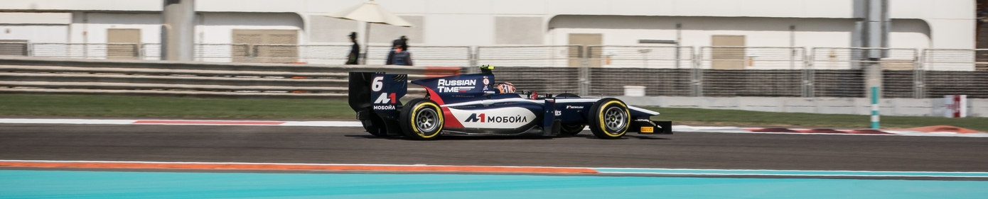 Artem Markelov promoted to win in the Abu Dhabi race 1!